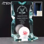Ice Block Hole In One Award Supplied In Blue Gift Box – £34