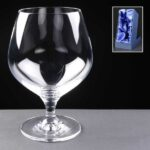 Schott Zwiesel Engraved Brandy Glasses Supplied In Satin Lined Presentation Box