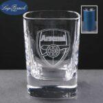 2oz Strauss Shot Glass Supplied In Blue Cardboard Tube - £7.25