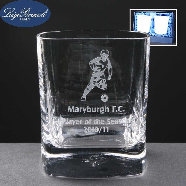 Strauss Whisky Glass x2 Supplied In Satin Lined Presentation Box - From £25.40