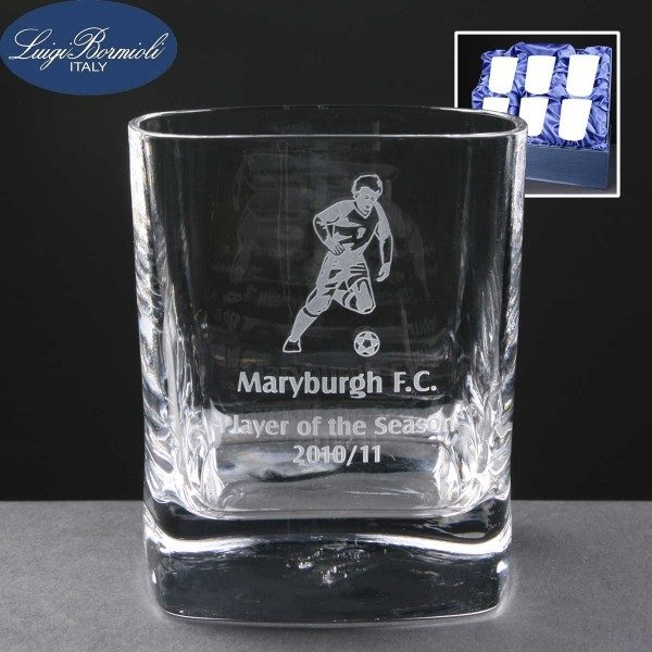 Strauss Whisky Glass x6 Supplied In Satin Lined Presentation Box - From £70.15