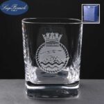 Strauss Whisky Glass Supplied In Blue Cardboard Gift Box - From £10.50