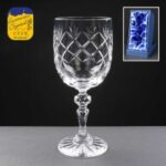 Earle Crystal Wine Glass With Panel For Engraving - £20.85 Including Engraving
