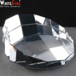 Whitefire Optical Crystal Dodecahedron In Velvet Lined Presentation Box - £26.85 Including Engraving